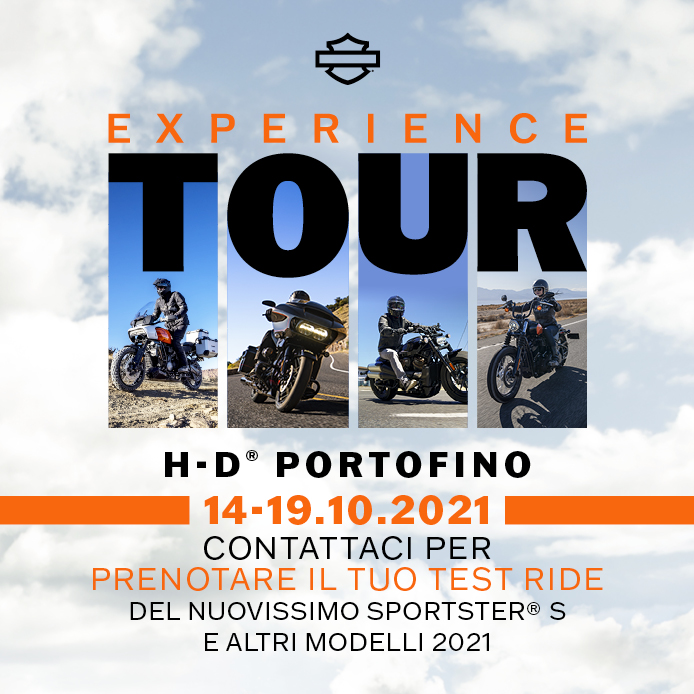 You are currently viewing Experience Tour – Prova  i nuovi modelli Harley Davidson